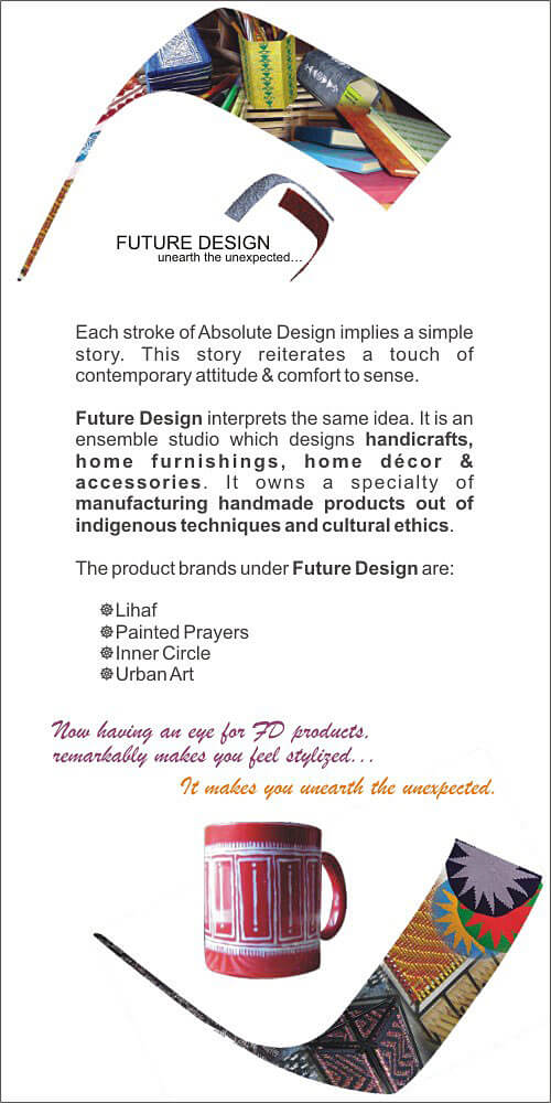 Leaflet Design Back Side - Printed Prayers