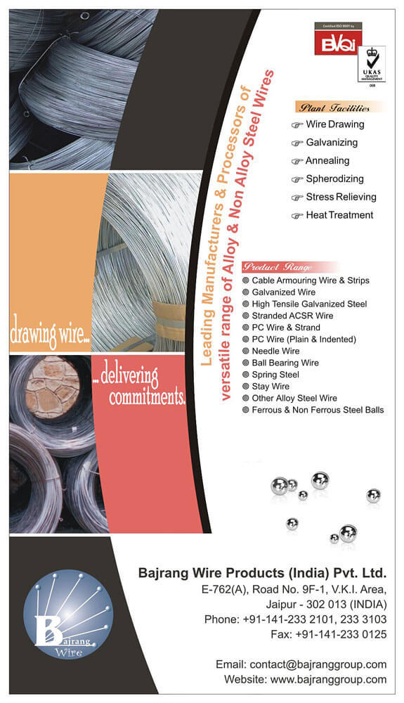 Magazine Ad Design - Bajrang Wire Products