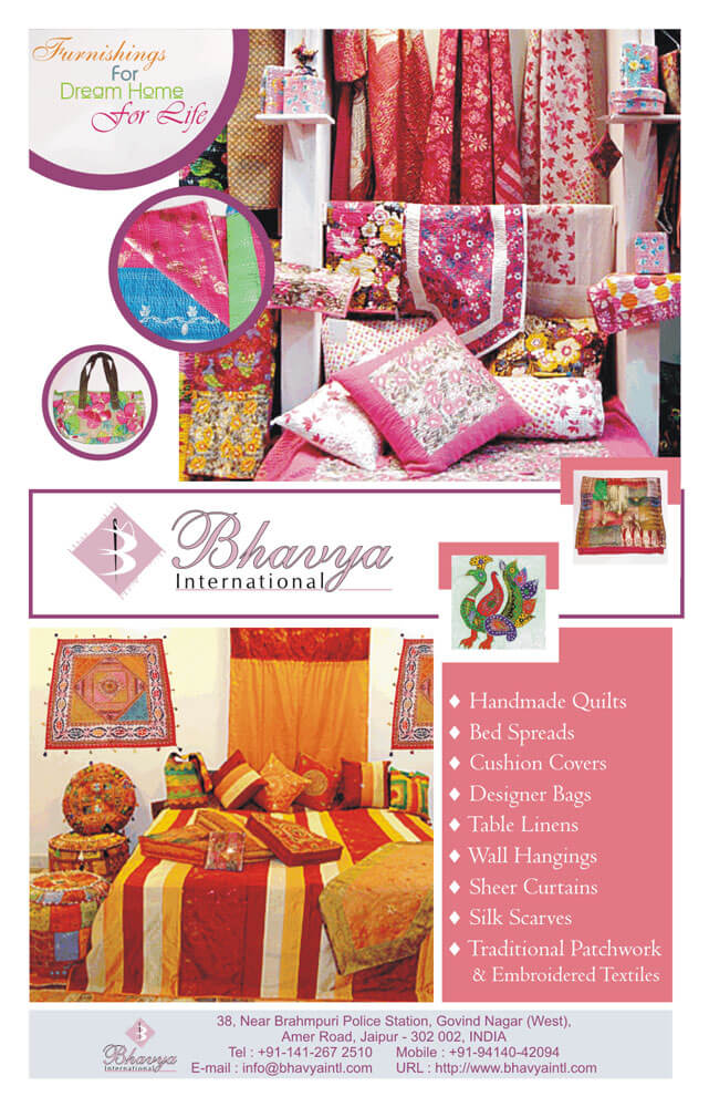 Magazine Ad Design - Bhavya International