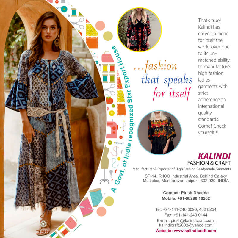 Magazine Ad Design - Kalindi Crafts