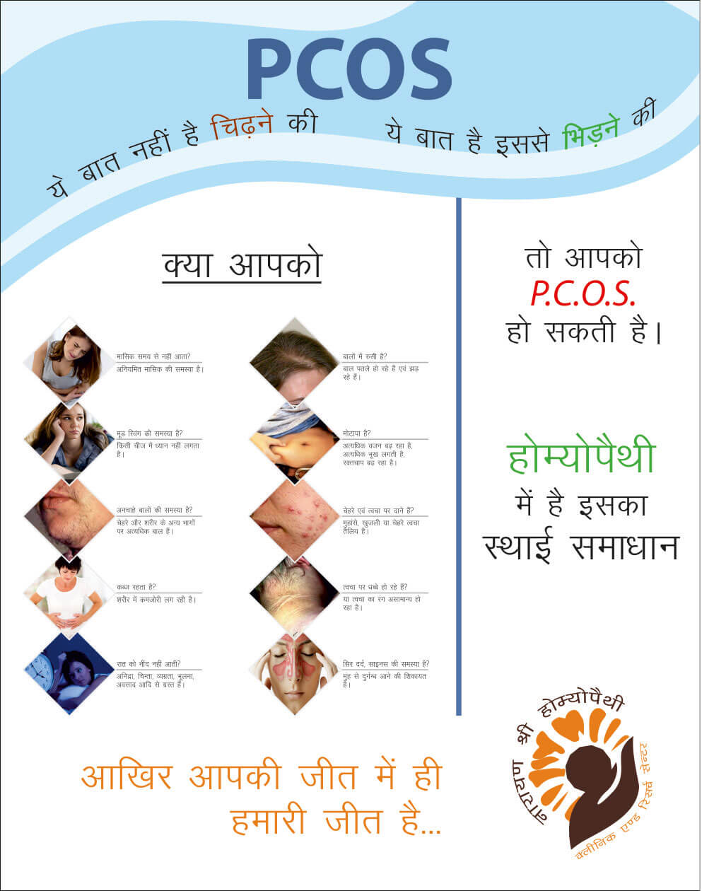 Poster Designing for Social Welfare - Narayan Sri Homeopathic Center